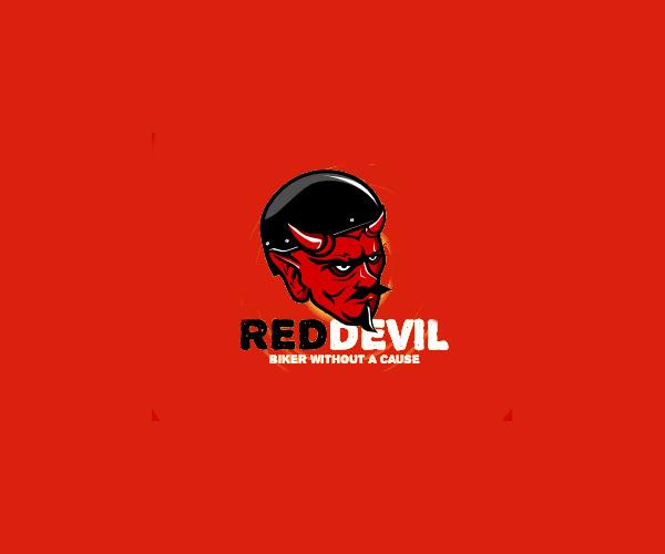 Red Devil Logo Design For Free