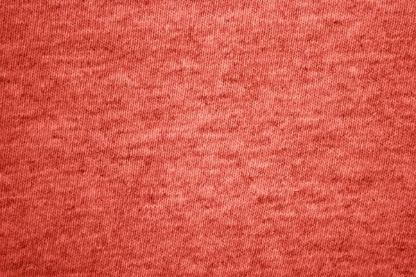 Red Heather Knit T-Shirt Fabric Texture