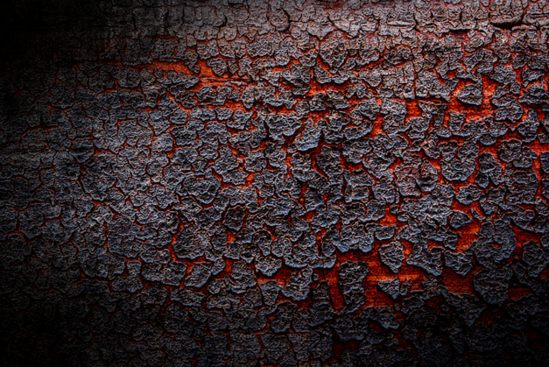 Red Volcano Lava Texture