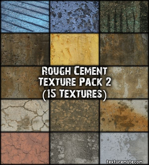 Rough Cement Textures Pack