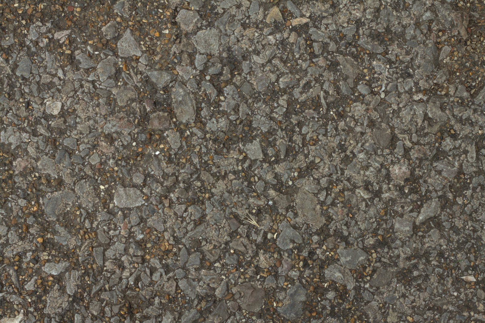 Rough Concrete Cobble Ground Gravel Texture