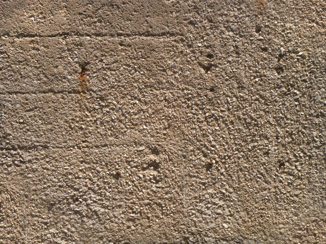 Rough Concrete Texture with Rocks