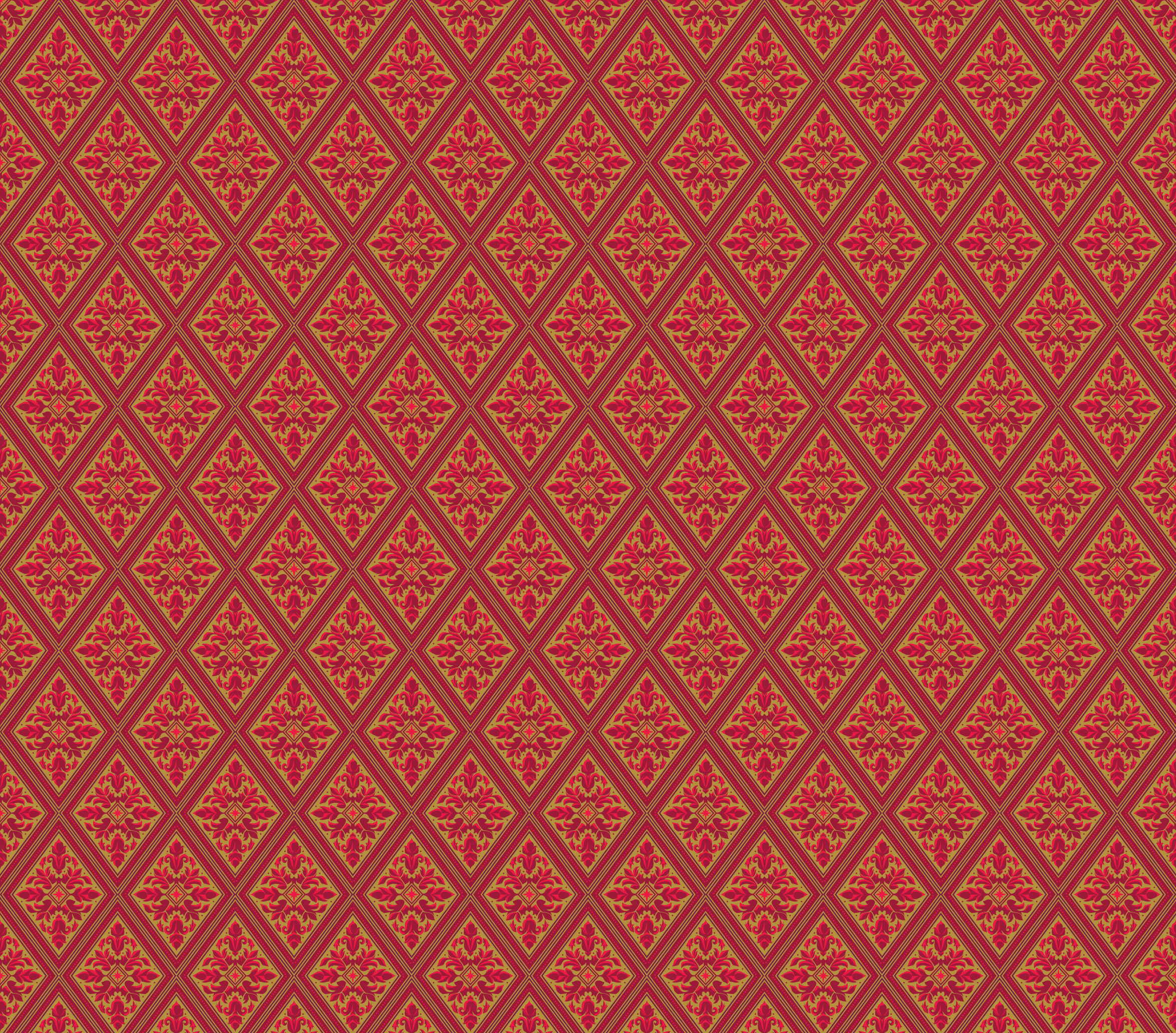 Royal rug seamless pattern