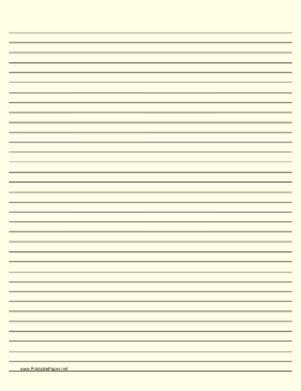 Ruled Lined Paper Background For Free