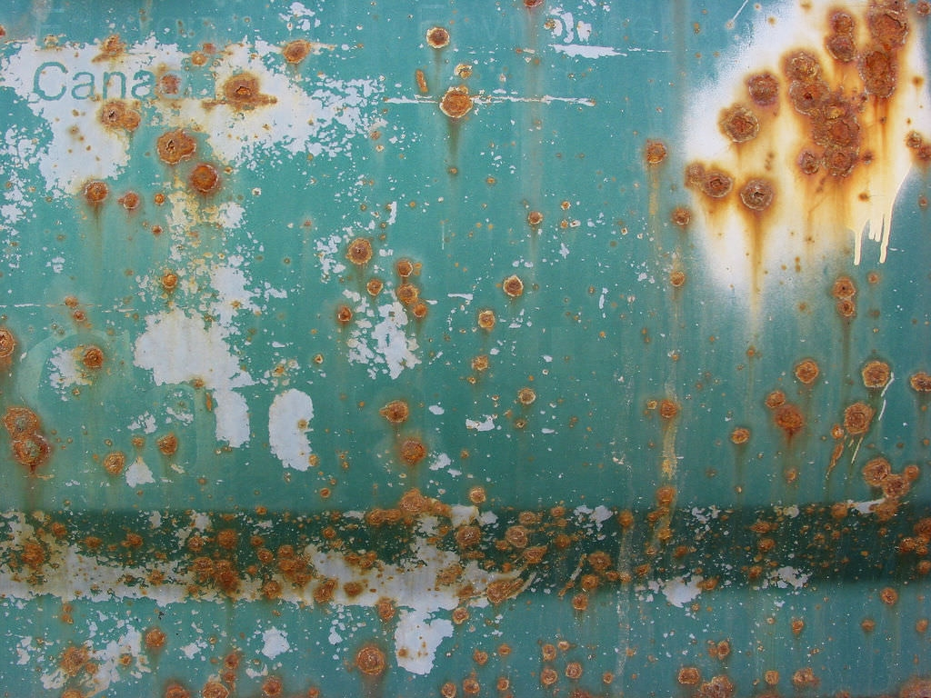 rust and barnacles texture