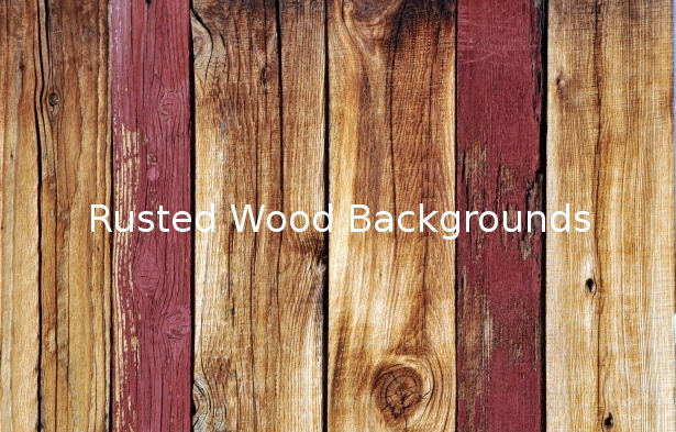 Rusted Wood Background Wallpapers