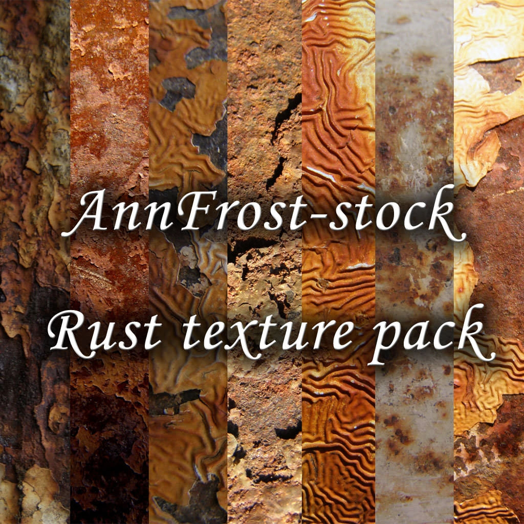Rusty Textures Pack