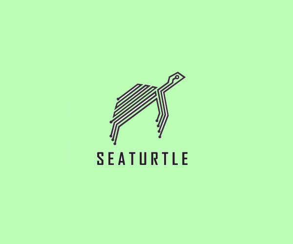 Sea turtle Logo Design For Free