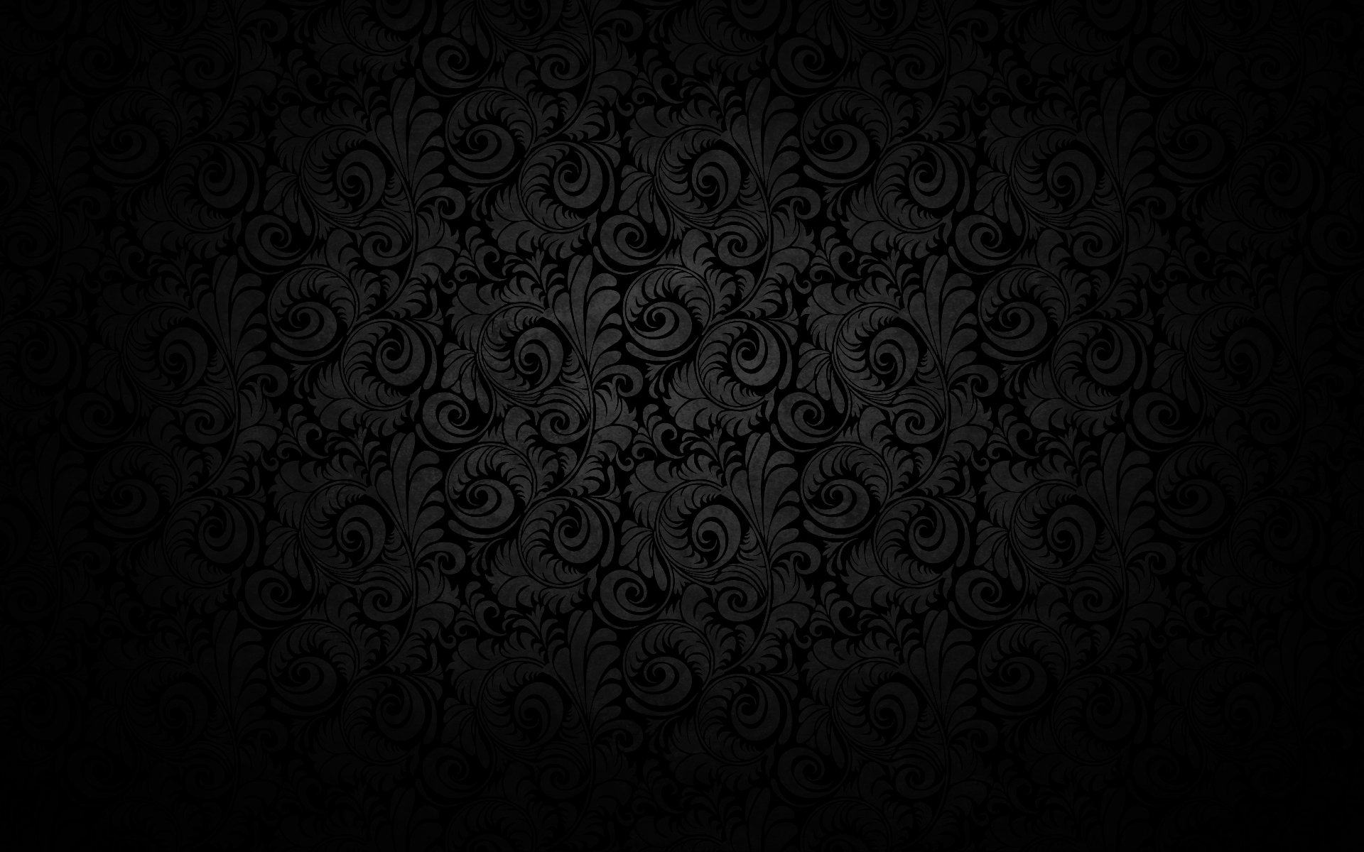 Seamless Black Pattern For Download