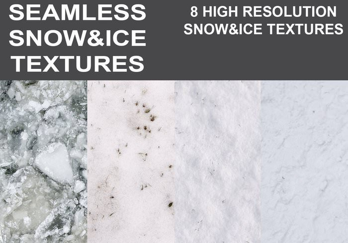 Seamless Ice and Snow Textures