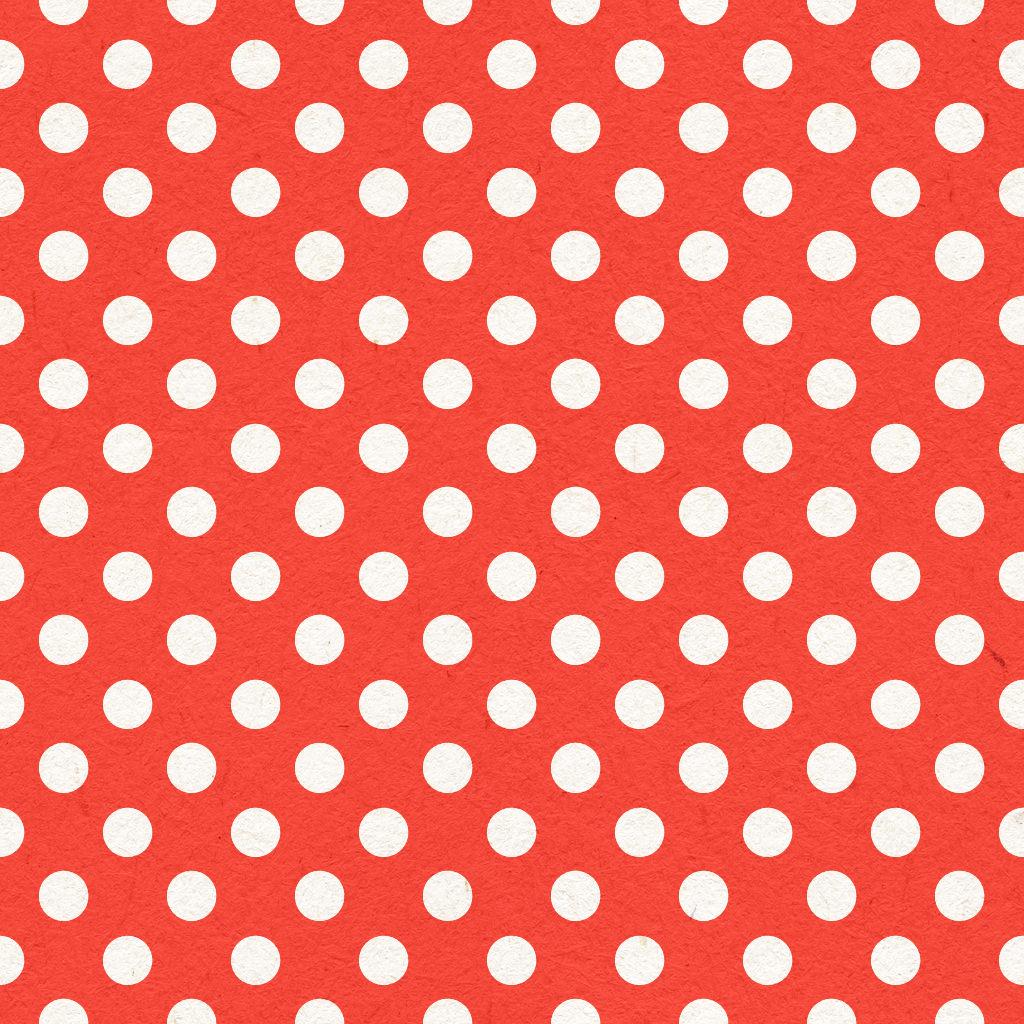 Seamless Polka Dot Paper Texture
