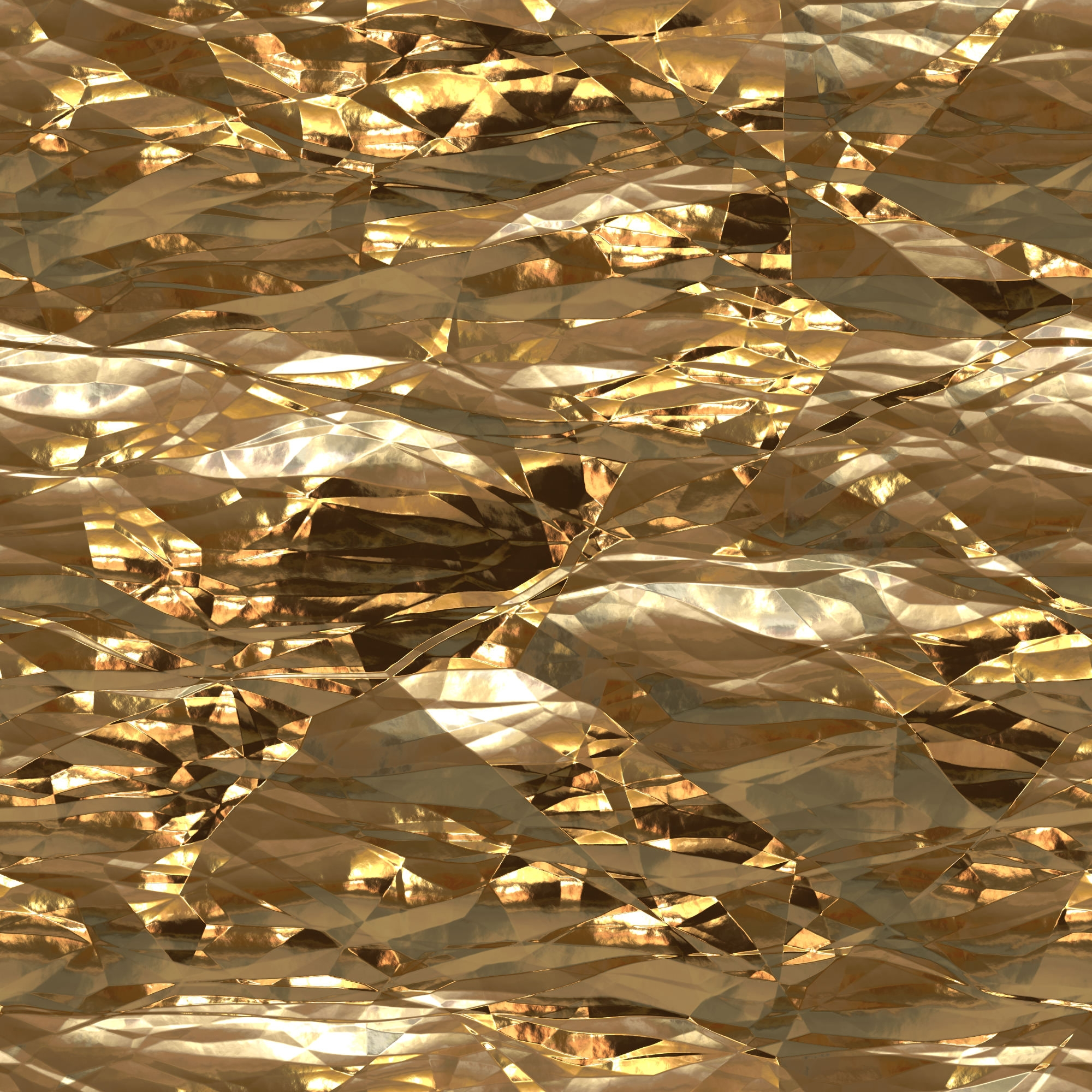 Seamless Shiny Gold Foil Texture