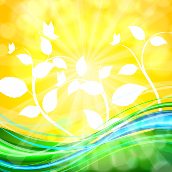 Shiny Yellow Background For Free