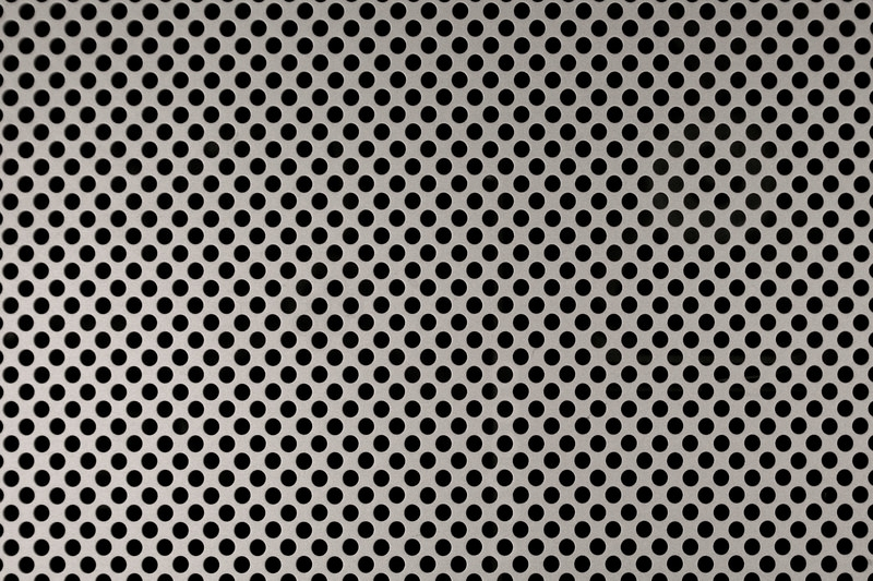 Silver Grid Metal Texture