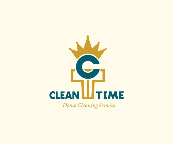 Simple Cleaning Service Logo For Free