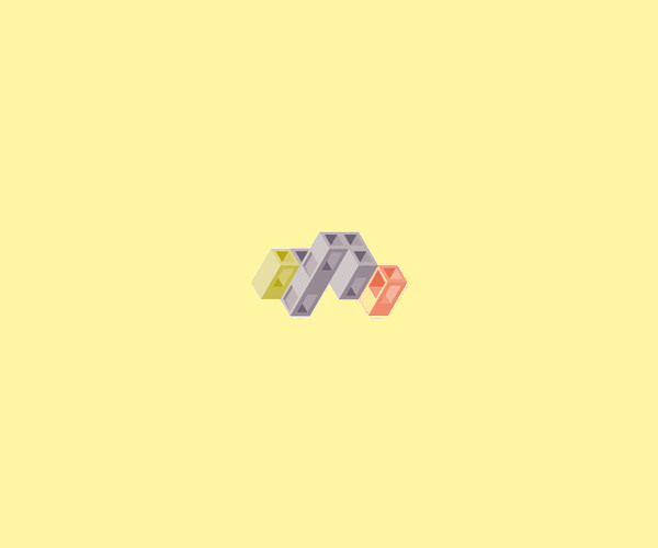Simple Isometric Logo For Free