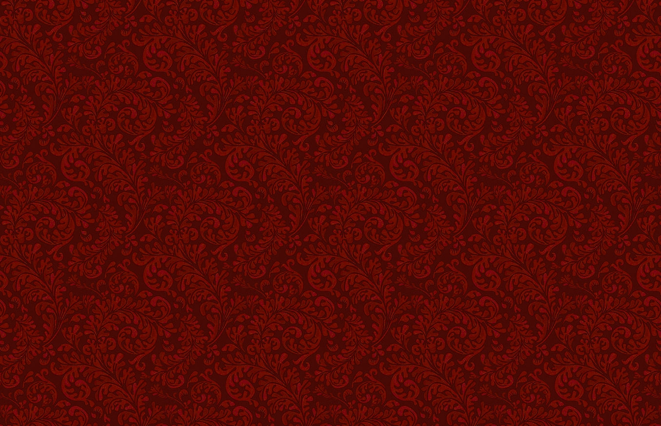 Simple Red Floral Pattern