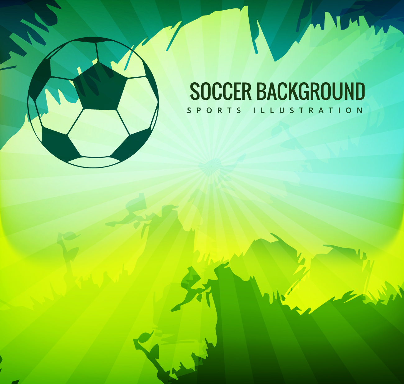 Soccer Ball Background For Free