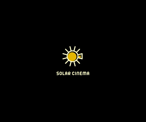 Solar Cinema Logo Design For Free