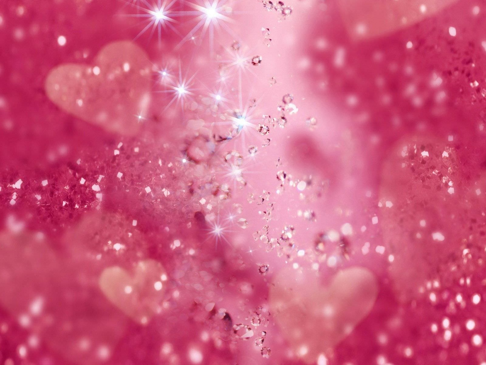 Sparkle and Glitters Background Wallpaper