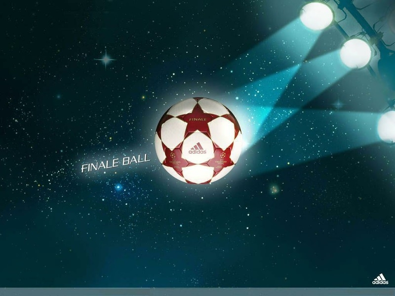 Sparkling Soccer Background For Free