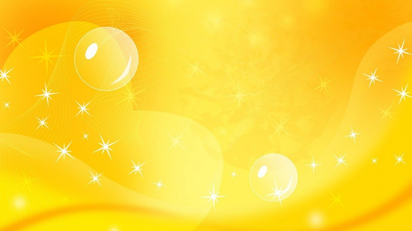 Sparkling Yellow Background For Free