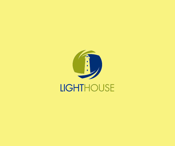 Stunning Light House Logo Design For Free