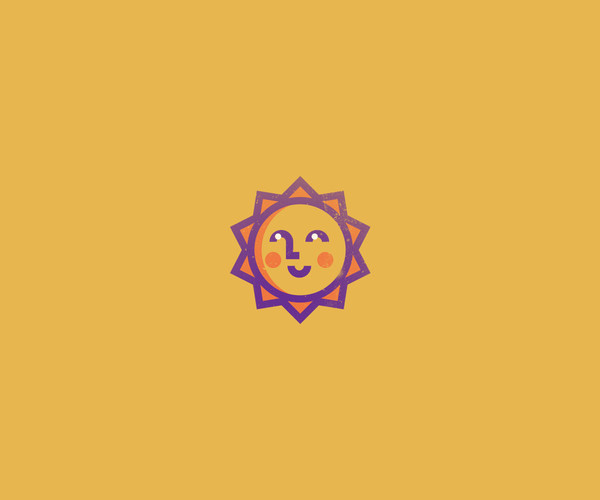 Sun Dude Design Logo For Free Download