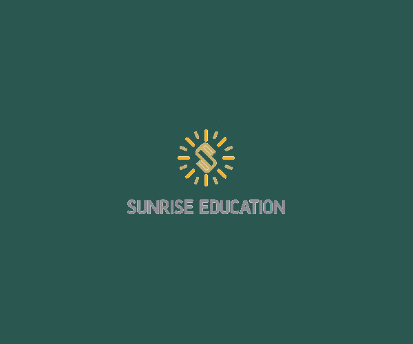 SunRise Education Logo Design For Free