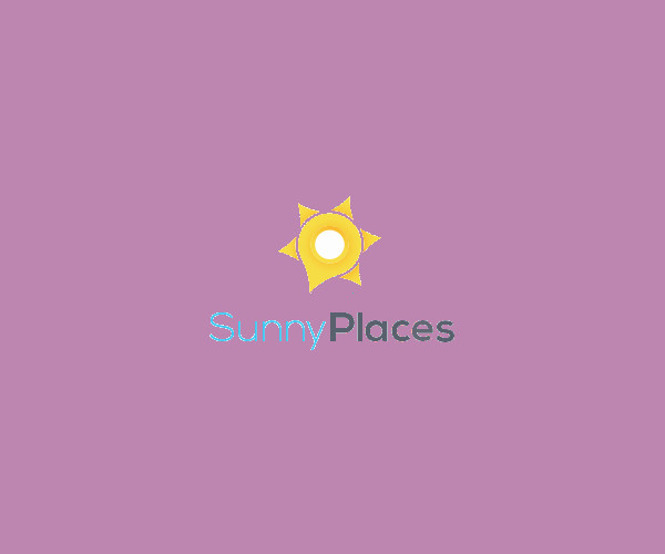 Sunny Places Logo Design For Free