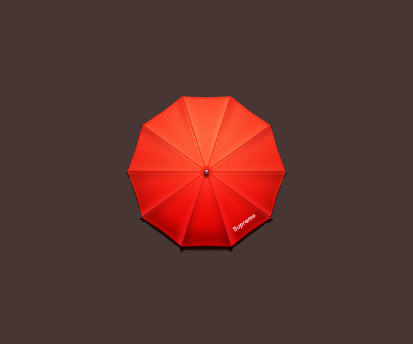 Supreme Umbrella Logo Design For Free
