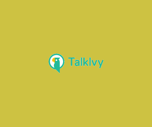 Talk Ivy Logo Design For Free