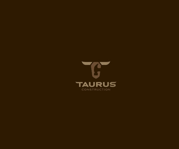 Taurus Construction Logo For Free