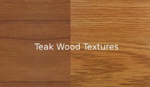 Teak Wood Textures