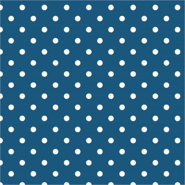 Teal Blue Polka Dot Background