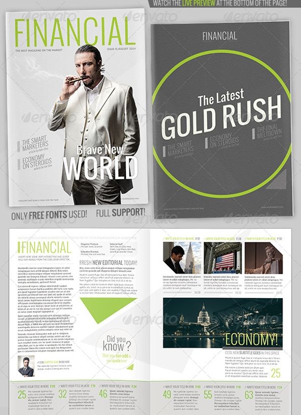 Technology Financial Magazine