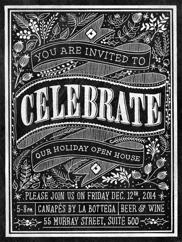 Teknision Holiday Open House Invitation