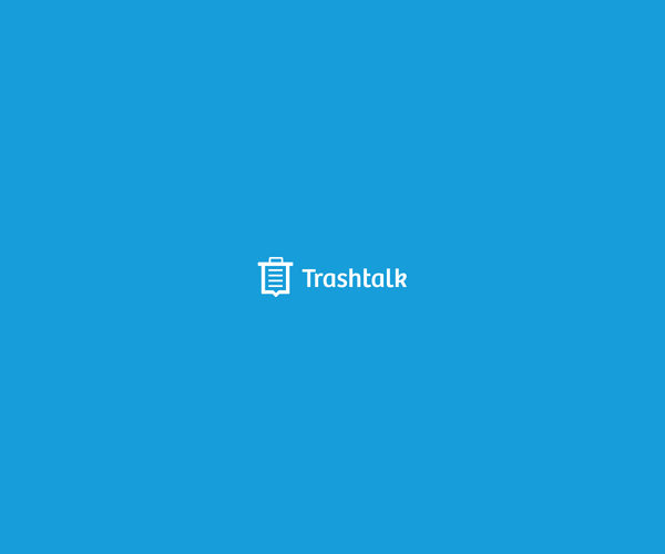 Trash Talk Logo Design For Free
