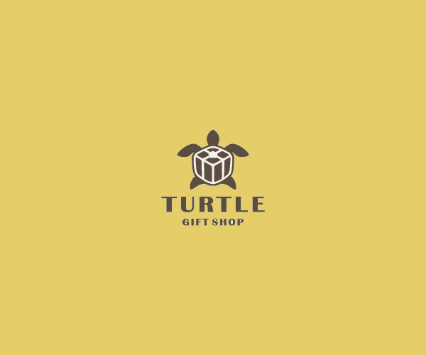 Turtle Gift Logo Design For Free