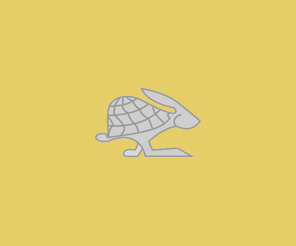 Turtle Hare Logo Design For Free