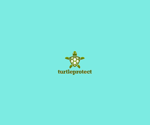 Turtle Protect Logo For Free