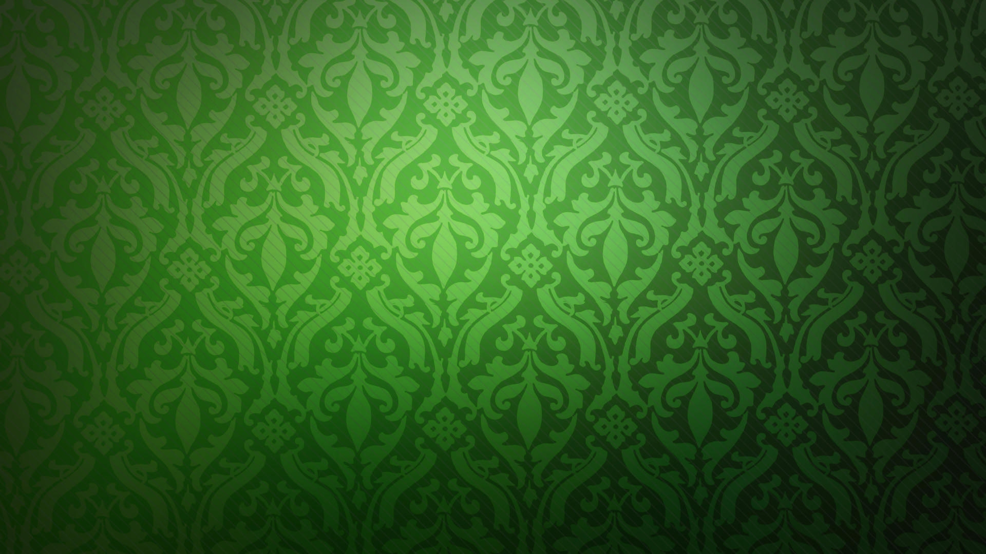 Twill Green Floral Background Wallpaper