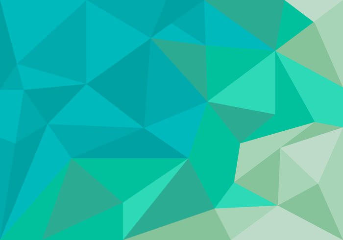 Unique Multi Polygon Background Vector