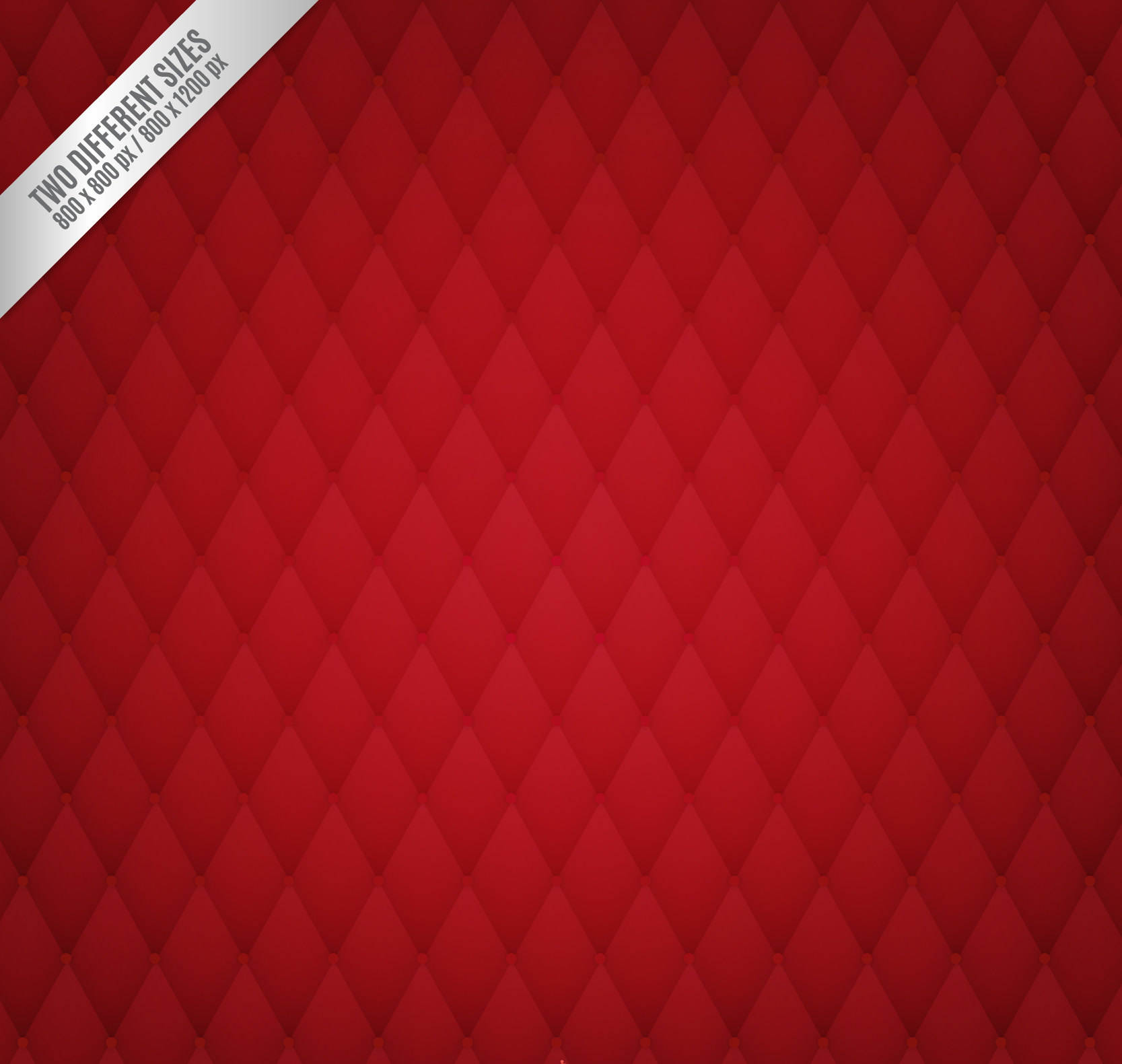 Upholstery Background in Red Color