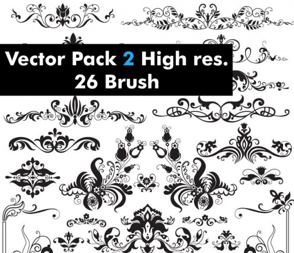 Vector Pack High Res Photoshop Brushes