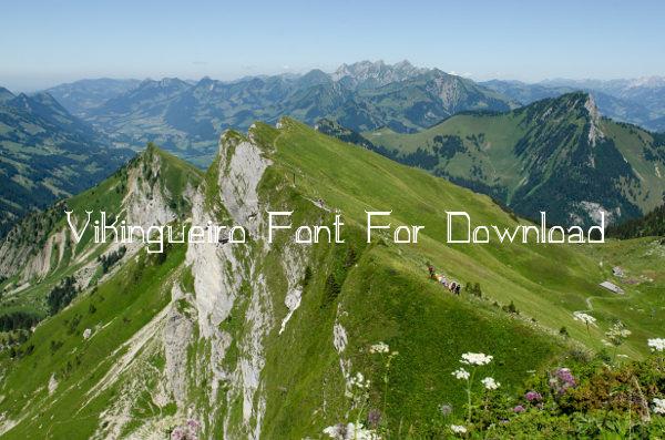 Vikingueiro Font For Download