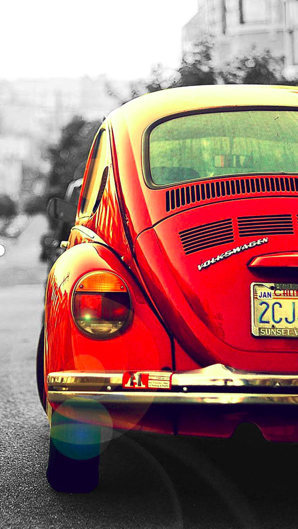 Vintage Car Background For iPhone 5c