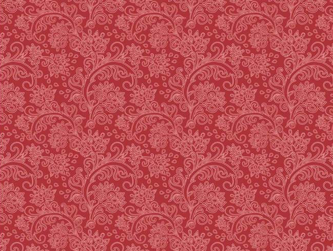 Vintage Floral Pattern Vector For You