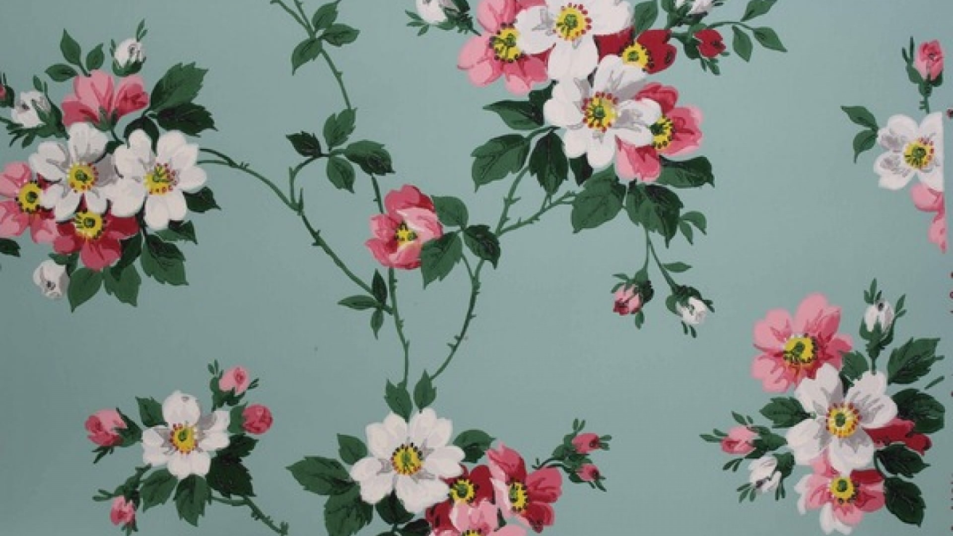 18+ Vintage Floral Wallpapers | Floral Patterns ...