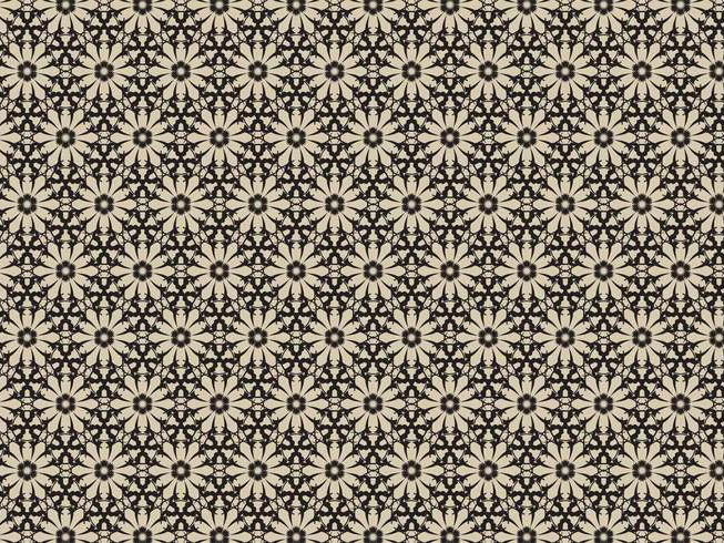 Vintage Flowers Pattern For Download